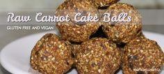 Raw Carrot Cake Balls Recipe