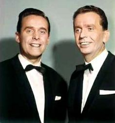 De Spelbrekers; Theo Rekkers (February 24, 1923 - April 20, 2012) and Huug Kok (February 19, 1918 - October 27, 2011) Dutch singers (they became 13th at the Eurovision Songcontest of 1962 with the song 'Katinka').