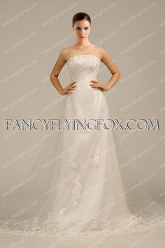 fancyflyingfox.com Offers High Quality Charming A-line Wedding Dress With Lace,Priced At Only US$225.00 (Free Shipping)