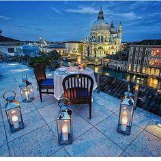 Jantar terraço Veneza