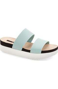 507c0b2c7a8 In WHITE kensie  Boston  Flatform Sandal (Women) available at  Nordstrom Mid