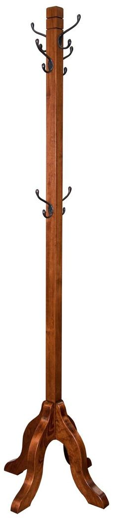 Amish Handcrafted Coat Rack 75