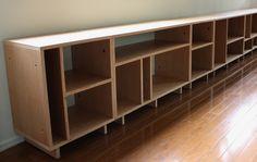 Plywood Storage Shelves Found on leebuild com