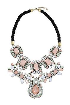 Olive + Piper French Empress Bib Necklace, $45, available at Olive + Piper.