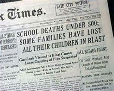 New London School explosion This explosion changed the course of history in causing natural gas to be required to have an odor as a result. Teaching Materials, Teaching Resources, Texas City Explosion, Galveston Hurricane, Book Burning, New London, Tornadoes, Family History, American History