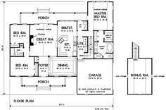 Basement Stair Option of The Cartwright - House Plan Number 801  1882 sq ft