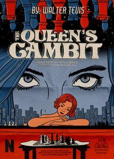 the queen's gambit book cover design