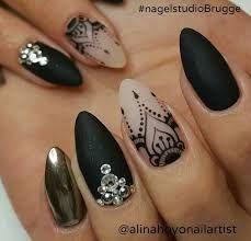 """Képtalálat a következőre: """"almond nails art"""""""