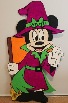 Halloween Minnie Mouse by MountainViewCreation