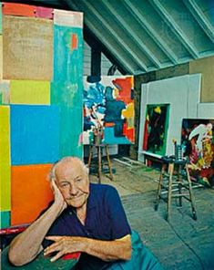 Hans Hoffman.... is one of the most important figures of postwar American art. Celebrated for his exuberant, color-filled canvases, and renowned as an influential teacher for generations of artists—including Wolf Kahn.