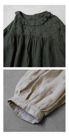 【楽天市場】【送料無料】Joie de Vivre フレンチリネンリアクティブダイブロドリールーシュドレス:BerryStyleベリースタイル Korean Babies, Hijab Fashion, Cute Dresses, Off Shoulder Blouse, Creations, Casual, Outfits, Clothes, Style