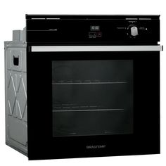 Forno de embutir a gás: forno embutido a gás com grill - Brastemp Forno A Gas, O Gas, Wall Oven, Kitchen Appliances, Gabriel, Double Ovens, In Wall Oven, Decorating Kitchen, Kitchen Things