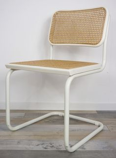 For sale: Cesca Chair by Marcel Breuer Rocking Chair Makeover, Home Furniture, Furniture Design, Vintage Chairs, Cool Chairs, Handmade Home Decor, Lounge, Bean Bag Chair, Marcel Breuer