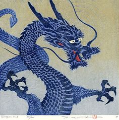 In Chinese mythology, Shenlong were azure-blue dragons that resided in the sky and were responsible for the changes in wind, rain and storms. The exact color of the dragons fluctuated land closely resemble the changing color of the sky. #Chinese #Mythology #Dragons