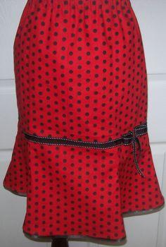 Polka Dot Skirt - CUTE!