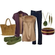 fall fashion outfits ideas | Autumn Goodness {Day 5} How to Wear Fall Colors {And Not Look Like a ...