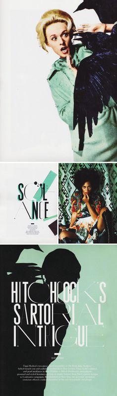 Minty layout from Rika Mag via Nubby Twiglet