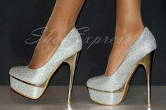 ♥NOVEDAD 2012/13- ZAPATOS EXCLUSIVOS/plata - TALLAS:35,36,37,38,39,40