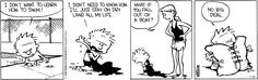 Calvin and Hobbes strip for July 22, 2016