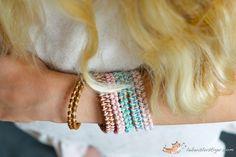 DIY Bracelet : DIY leather bracelet