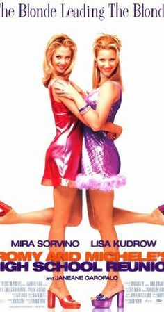 Directed by David Mirkin.  With Mira Sorvino, Lisa Kudrow, Janeane Garofalo, Alan Cumming. Two dense, inseparable friends hit the road for their 10-year high school reunion and concoct an elaborate lie about their lives in order to impress their classmates.