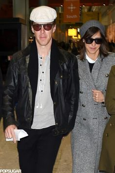 Benedict Cumberbatch and Sophie Hunter London
