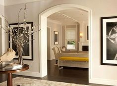 dining room entry.