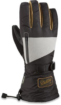 DAKINE TITAN GLOVE UNION The Titan from Dakine is a great mitt with trusted reliability from the wet with Goretex insert. The Goretex pulls moisture away from the skin and keeps external moisture out meaning your hands stay warm and dry all day long. Combine this with a high loft insulation and you know you will stay warm with the titan. #snowboards #mensnowboardskigloves #dakinemensnowboardskititanglove #colourunion