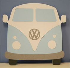 VW Bus Door Dec Ideas Different colour vans maybe borrow laser cutter for efficiency.