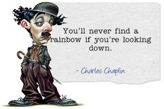 Charles Chaplin Inspirational #quotes