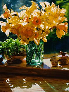 Daffodils from the Garden, by Carol Evans