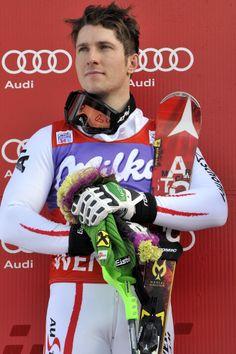 Just Damn Cute Marcel Hirscher Rocked The Silver In Men's Slalom. He Rocks The Super G Skintight Suit! And Marcel Hirscher Has A Rockin' Bod! Alpine Skiing, Snow Skiing, Ski Ski, Austria Winter, Ski Racing, Sexy Men, Sexy Guys, Ski Gear, Olympic Champion