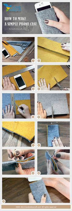 how to make a simple phone case