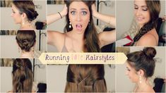 Very quick and easy heatless hairstyles. Perfect for when you're in a rush or just summertime in general!