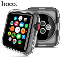 HOCO Shell for Apple Watch Series 3 2 Soft Transparent Case Ultra Thin Clear Protective Cover Protection Smart Watch Bumper Apple Watch Series 3, Smart Watch, Cool Stuff, Stuff To Buy, Watches For Men, Shells, Great Gifts, Free Shipping, Smartwatch
