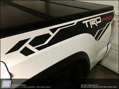 Toyota Tacoma TRD PRO Graphics Kit - Fits 2016 2017 2018 2019 2020 – IMPORTequipment Toyota Trd Pro, 2016 Tacoma, Toyota Tacoma Double Cab, Toyota Tacoma Trd Sport, Toyota 4runner, Lifted Ford Trucks, Jeep Truck, Tacoma Off Road, Bugatti Veyron