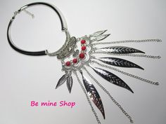 Hippie Style, Chokers, Hoop Earrings, Personalized Items, Ornaments, Etsy, Jewelry, Choker, Feathers