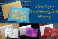 Giveaway: Win a Set of #Diwali Cards!