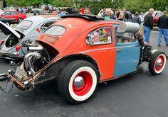 VW Beetle rat rod by scott597, via Flickr