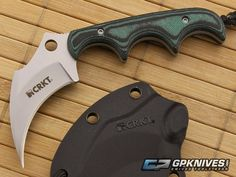 CRKT Folts KeraMin this neck knife is a keeper for keeping her safe!
