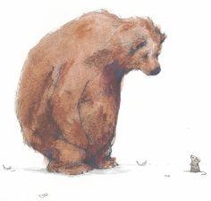 Bear Has a Story-bear and mouse