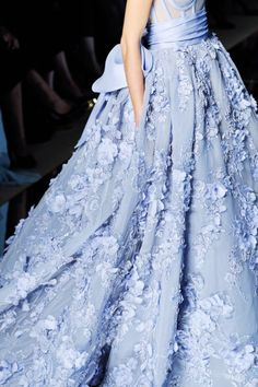 Detail at Zuhair Murad Spring 2016 Haute Couture.