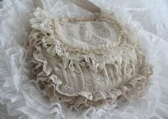 Vintage Girl lace purse