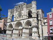 Castille-La Manche : Cathédrale de Cuenca - Espagne  http://fr.wikipedia.org/wiki/Cuenca_(Espagne)