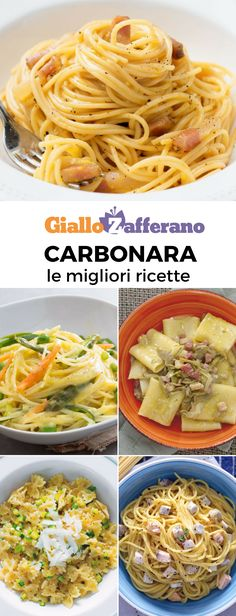 Vegetables Used In Italian Cooking Pasta Alla Carbonara, Pasta Recipes, Cooking Recipes, Italian Dinner Recipes, Italian Cooking, Fat Foods, Pasta Noodles, Lunches And Dinners, Pasta Dishes