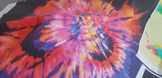 Tie Dye Big Bang custom fabric by for sale on Spoonflower