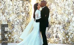 Kim Kardashian and Kanye West's Wedding Weekend By the Numbers