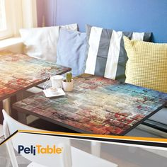 Feel the Pattern 🌅  #Pelitable #Peli #mosaicart #mosaicsurface #interiordesign #design #homedecor #laminateflooring #laminatedesign #homerenovation #flooring  #digitalprinting #floor #peliparquet #treads #furniture #laminateveneer #instadecor #interieri #casa #interiorideas #room #house #cafe #kitchen #office #esthetic