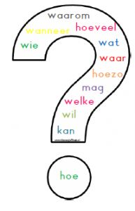 For practicing Dutch Learn Dutch, Dutch Language, Teacher Inspiration, School Posters, Teacher Education, Thinking Skills, Creative Teaching, Speech And Language, Fun Learning