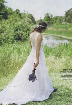 Enchanted Atelier {Jardin Vine} featured in Bridal Guide magazine